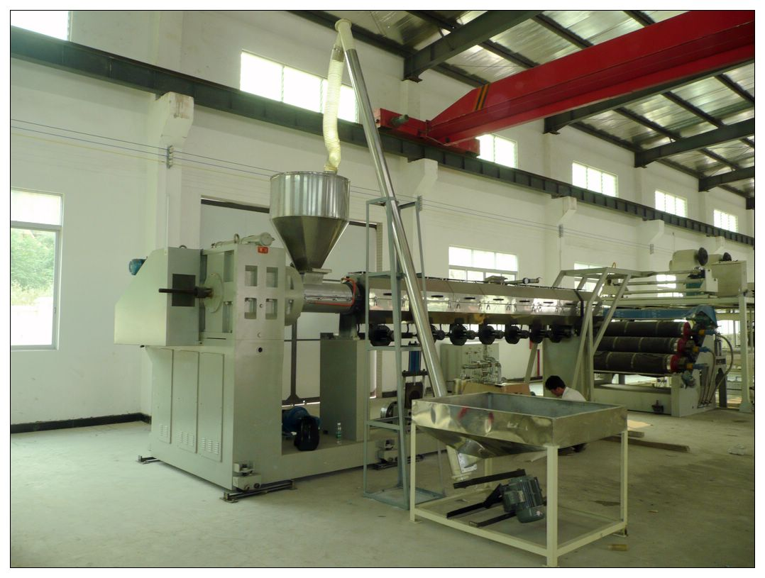 Part 2: PE Extrusion Machine