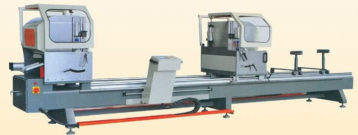 LJZ2S-500x4200 CNC Precise Double Head Cutting Saw