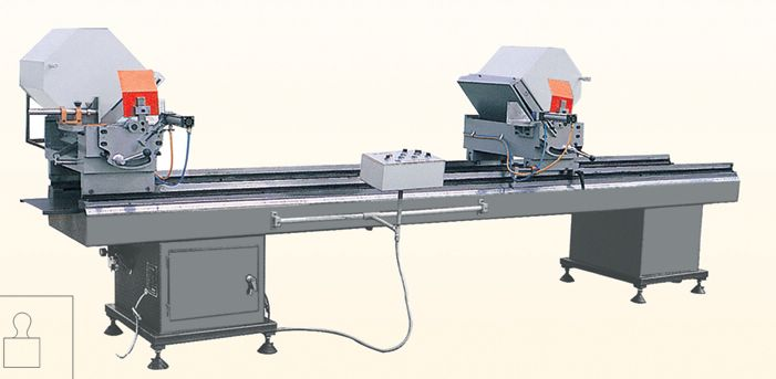LJZ2-450*3500 Double Mitre Saw for Aluminum and PVC Profiles